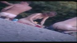 Nude Beach - Hot Young Girl Posing