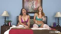 WildOnCam Lilly Hall And Skylar Snow Lesbian