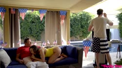 MyFamilyPies - Rosalyn Sphinx, Whitney Wright - Fourth Of July Family Fuck