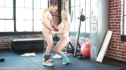 PenthouseGold Lilly Bell - Lillys Interracial Workout